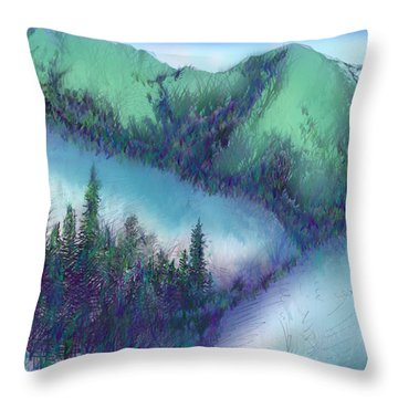 Wilmore Wilderness Area Throw Pillow