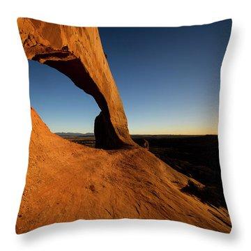 Wilson Arch 2 Throw Pillow