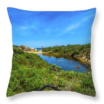 Wilsons Promontory National Park Throw Pillow