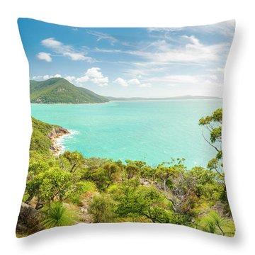 Wilsons Promontory Panorama Throw Pillow
