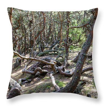Throw Pillow featuring the photograph Wind Blown by Kennerth and Birgitta Kullman