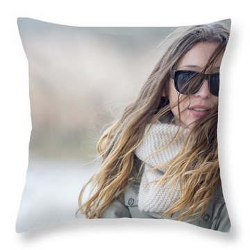 Wind.. Throw Pillow