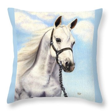Wind Dancer Throw Pillow