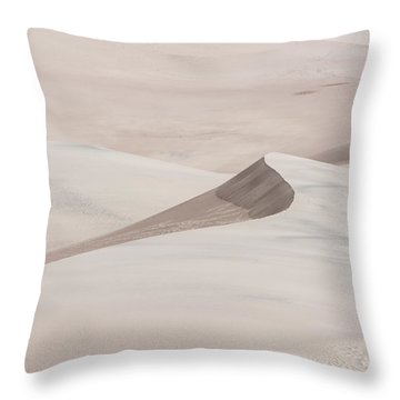 Throw Pillow featuring the photograph Wind Formations by Colleen Coccia