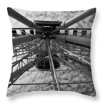 Wind Jammer Throw Pillow by Trish Hale