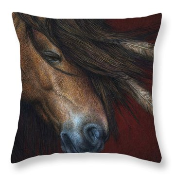Wind River Throw Pillow