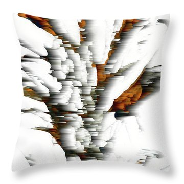 Throw Pillow featuring the painting Wind Series 05.072311windblastscvss by Kris Haas