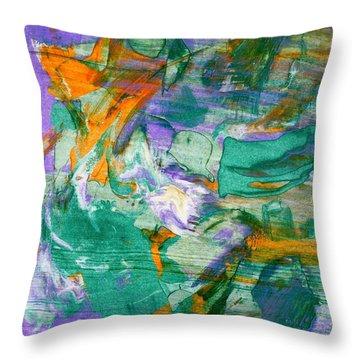 Windblown Throw Pillow by Lori Kingston