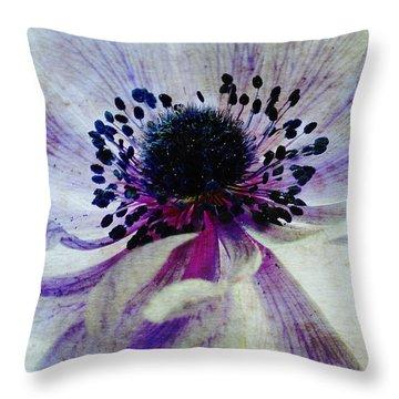 Windflower Throw Pillow