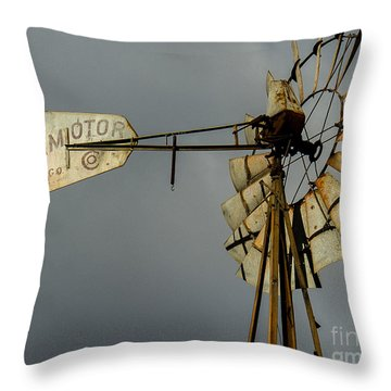 Windmill 1 Throw Pillow