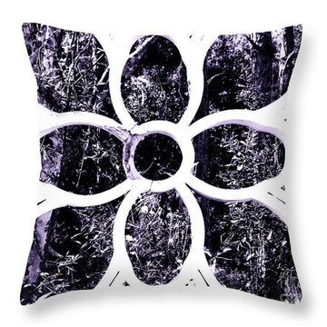 Window #1 Acai Angeloffj Throw Pillow