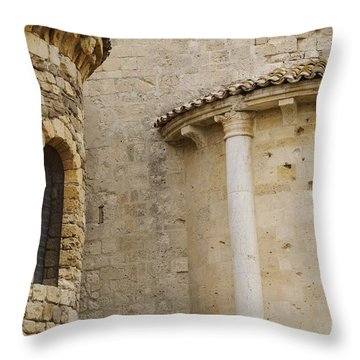 Window Due - Italy Throw Pillow