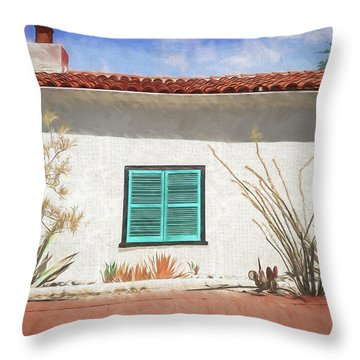 Window In Oracle Throw Pillow