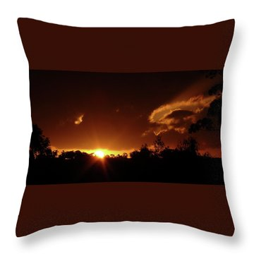 Window In The Sky Throw Pillow