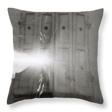 Window Street Throw Pillow