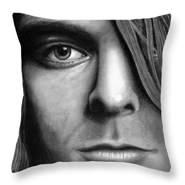 Window To A Troubled Soul Throw Pillow