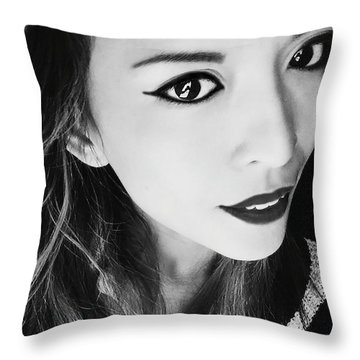 Window To Soul Throw Pillow by Ester  Rogers