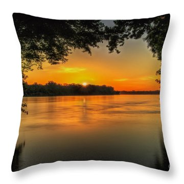 Window To The River Throw Pillow