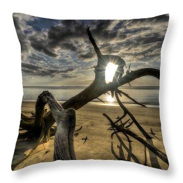 Window To The Sun Throw Pillow