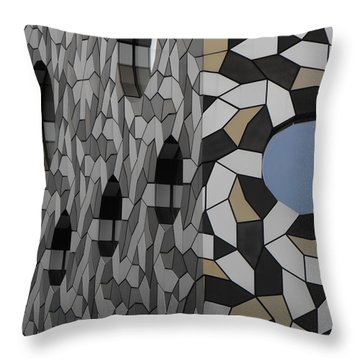 Windows Greenwich 01 Throw Pillow