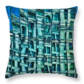 Windows In Windows Throw Pillow