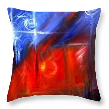 Windows Throw Pillow by James Christopher Hill