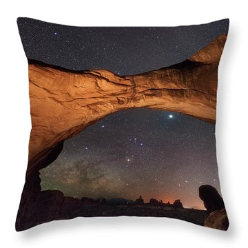 Windows To Heaven Throw Pillow