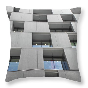 Windows_south Bank 01 Throw Pillow