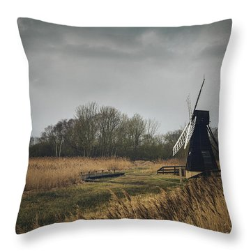 Windpump Throw Pillow