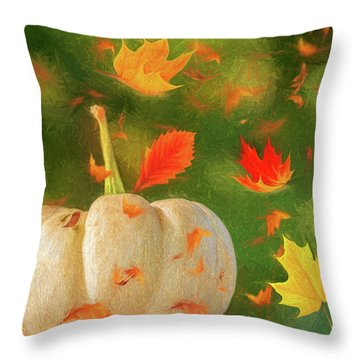 Winds Of Autumn Throw Pillow