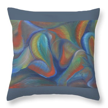 Winds Of Change Prevail Throw Pillow