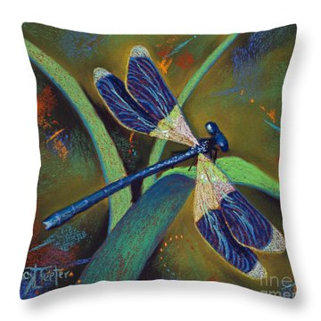 Winds Of Change Throw Pillow by Tracy L Teeter