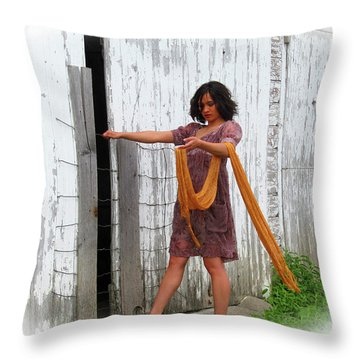 Winds Of Hope Throw Pillow