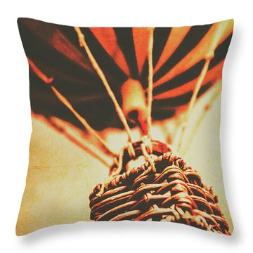 Winds Of Old Travel  Throw Pillow