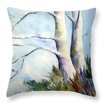 Winds Of Provence Throw Pillow by Joanne Smoley