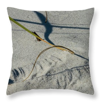 Winds Sand Scapes Throw Pillow
