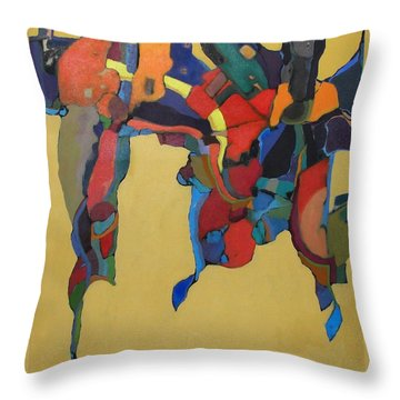 Windsong Throw Pillow