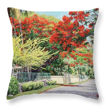 Windsor Avenue Throw Pillow