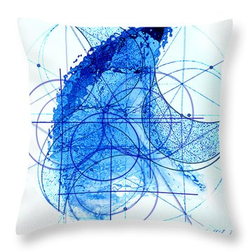 Windstorm Throw Pillow by James Christopher Hill