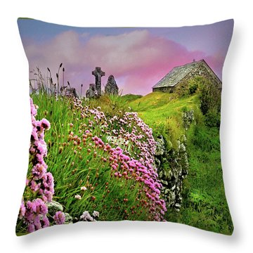 Windswept Memories Throw Pillow