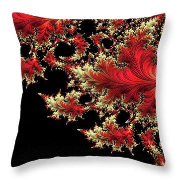 Throw Pillow featuring the digital art Windswept by Susan Maxwell Schmidt