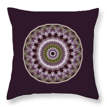 Wine Roses And Thorns Throw Pillow