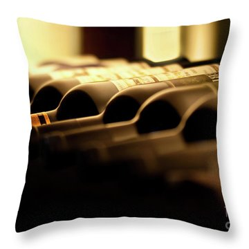 Wines Throw Pillow