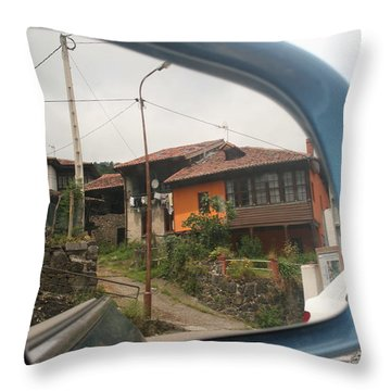 Wing Mirror Throw Pillow