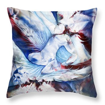 Wing Rider Throw Pillow