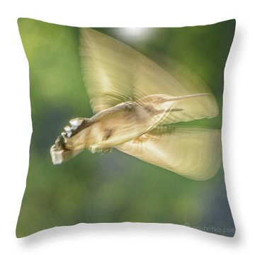 Wing Shadow Throw Pillow