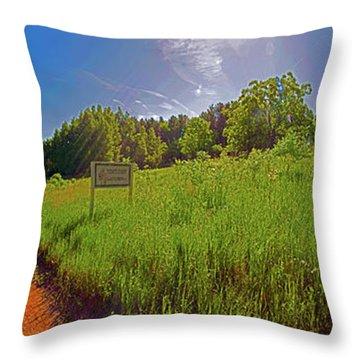 Wingate, Prairie, Pines Trail Throw Pillow