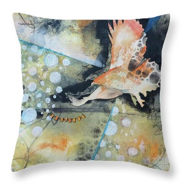 Wings And A Prayer Throw Pillow