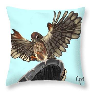 Wings. II Throw Pillow