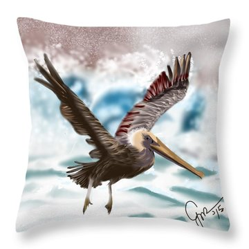 Wings IIi Throw Pillow
